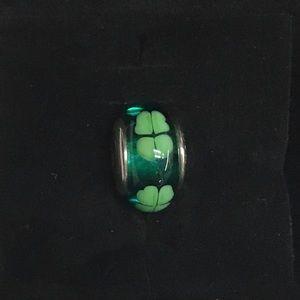 Pandora Four Leaf Clover Murano Bead